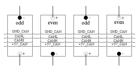 单体电池保护板管理电路连接线图