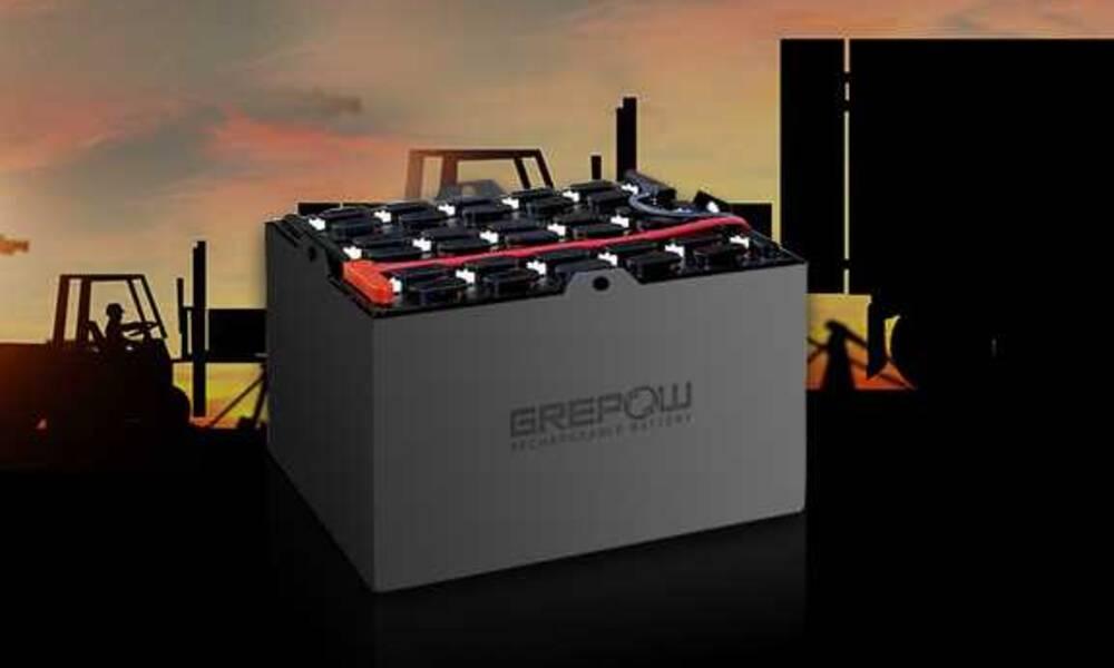 什么是自动叉车机器人?用的是什么电池?