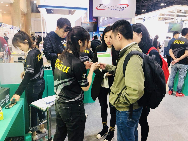 2019中国国际模型展格瑞普电池魅力四射