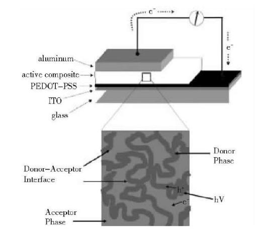 太阳能聚合物电池的结构