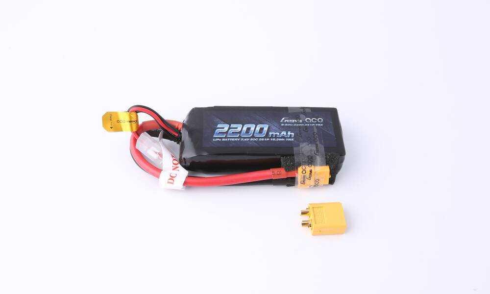 GENSACE 50C-7.4V-2S1P车模电池