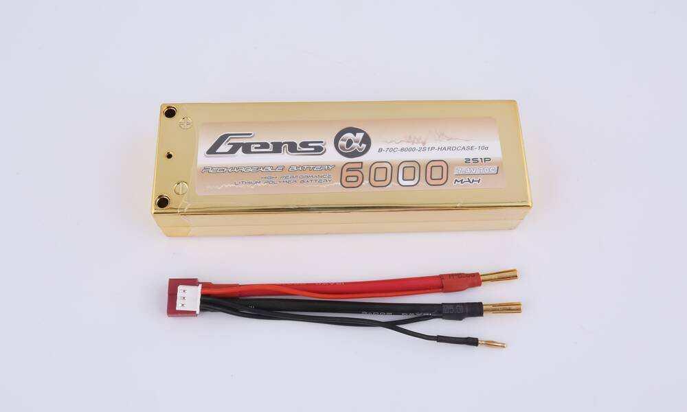 GENSACE 70C-7.4V-2S1P车模电池(金砖)