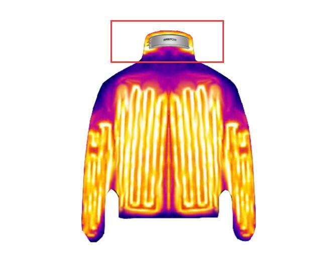 格瑞普加热服电池装载示意图