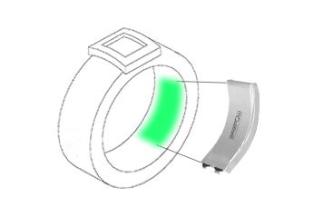 格瑞普智能戒指电池装载示意图