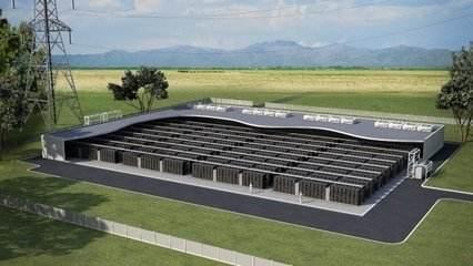 电池储能项目示意图