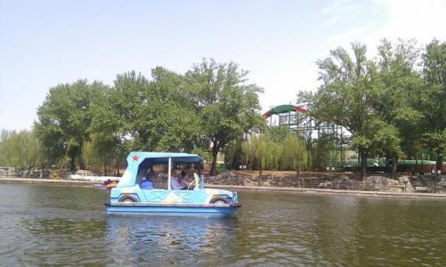 公园电动船