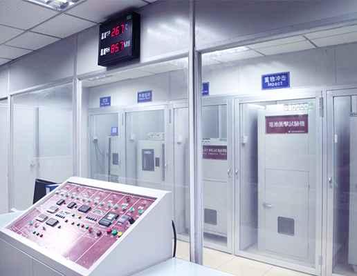 锂聚合物电池厂家格瑞普研发测试实验室