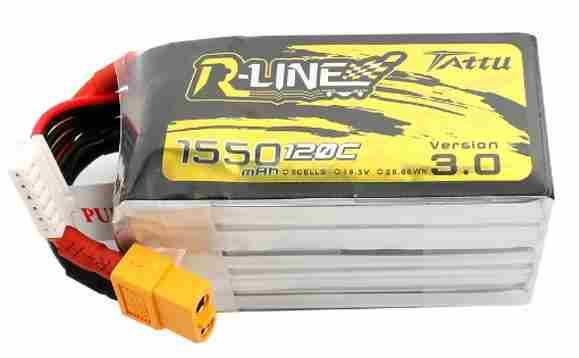 TATTU R-line3.0 fpv电池