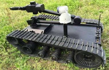 扫雷机器人