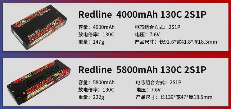 红线电池redline