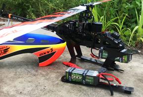 模型直升机电池