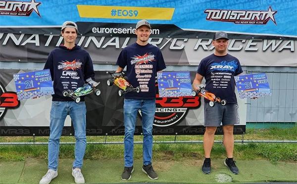 世界级欧洲越野系列赛(EOS)2021 赛季,格氏车手Jörn强势包揽冠亚季军!