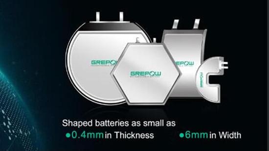 异形锂聚合物电池