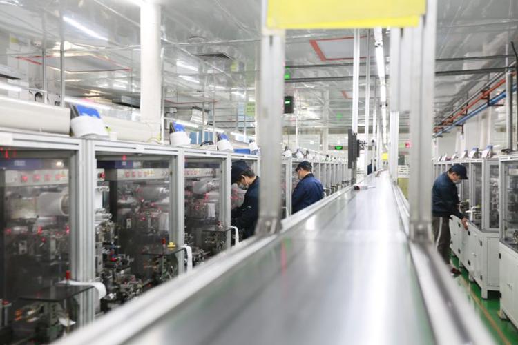 格瑞普锂聚合电池制造基地