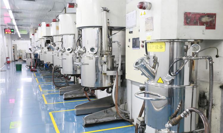 格瑞普低温电池生产车间