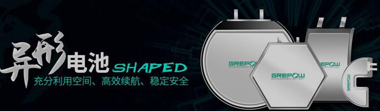 格瑞普异形电池