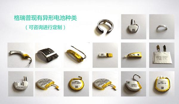 格瑞普异形电池类型